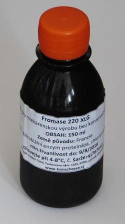 Syřidlo Fromase 220 XLG - 150 ml